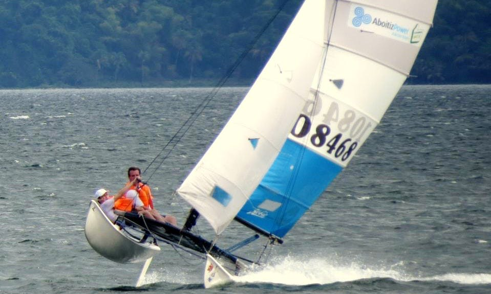 Rent a 16ft Hobie Cat in Calabarzon, Philippines for 3 friends
