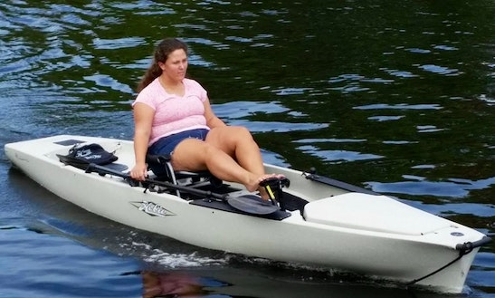 Hobie Mirage Pedal Kayak Rental In North Palm Beach