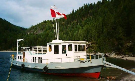 Mv Mingulay 54ft Houseboat Rental On Kootenay Lake