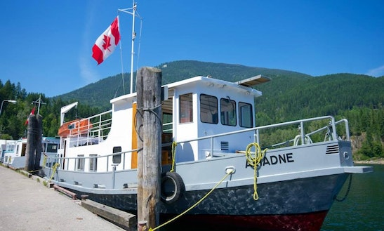 Rent Mv Ariadne 50ft Houseboat On Kootenay Lake