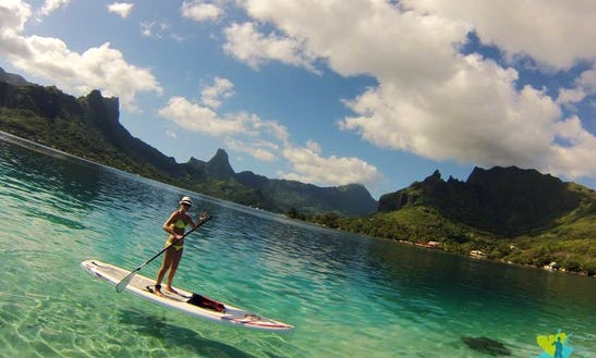 Sup Tour - Paddleboard In French Polynesia, Moorea