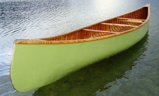 Canoe Rental In Lavigne, Ontario