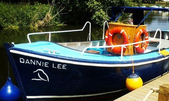The Dannie Lee Charters And Cruises In Newenden