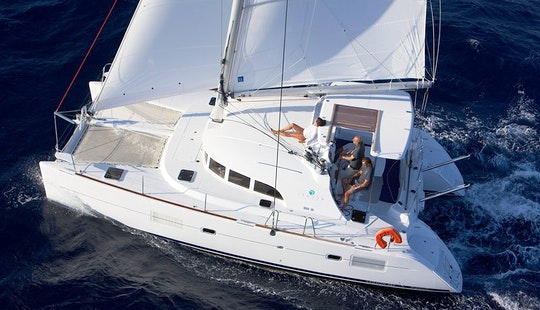 Enjoy Estonia With This Lagoon 380 Cruising Catamaran For 16 People
