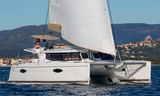 Helia 44 Catamaran Charter In Spain