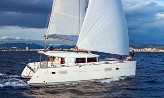 Catamaran Sailing Charter In Denia, Spain
