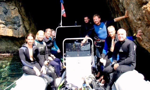 Private Dive Boat Trip With Certified Instructor in Corfu, Greece