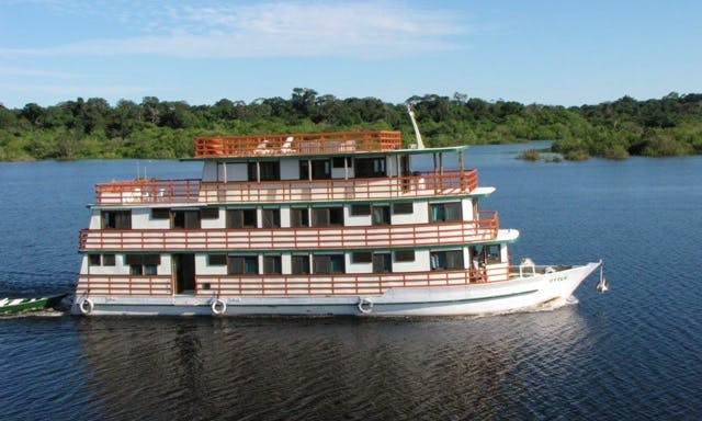 "Fishing Charter on ""Floating Hotel"" in all the Amazon Basin"