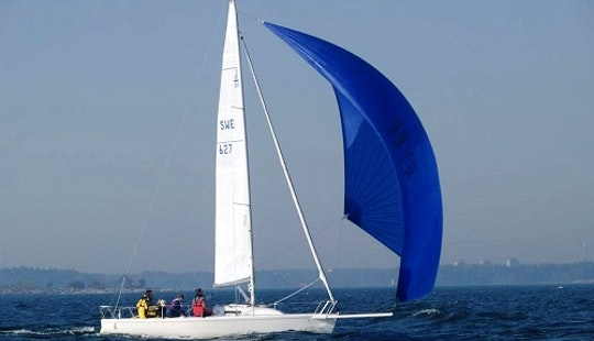 Sailboat J80 Charter In Playa Blanca