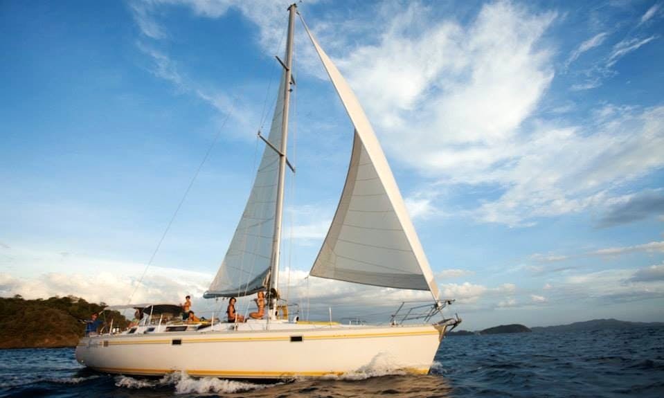 "Private Sailing Tours on ""50' Serendipity"" in Costa Rica"
