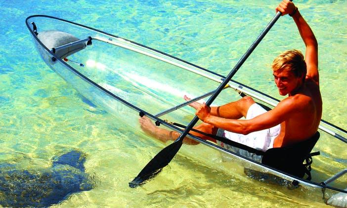 Kayak Tour in La Saline-Les-Bains