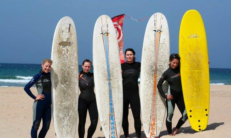 SUP Rental at Surf School Conil