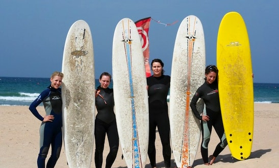 Sup Rental At Surf School Conil