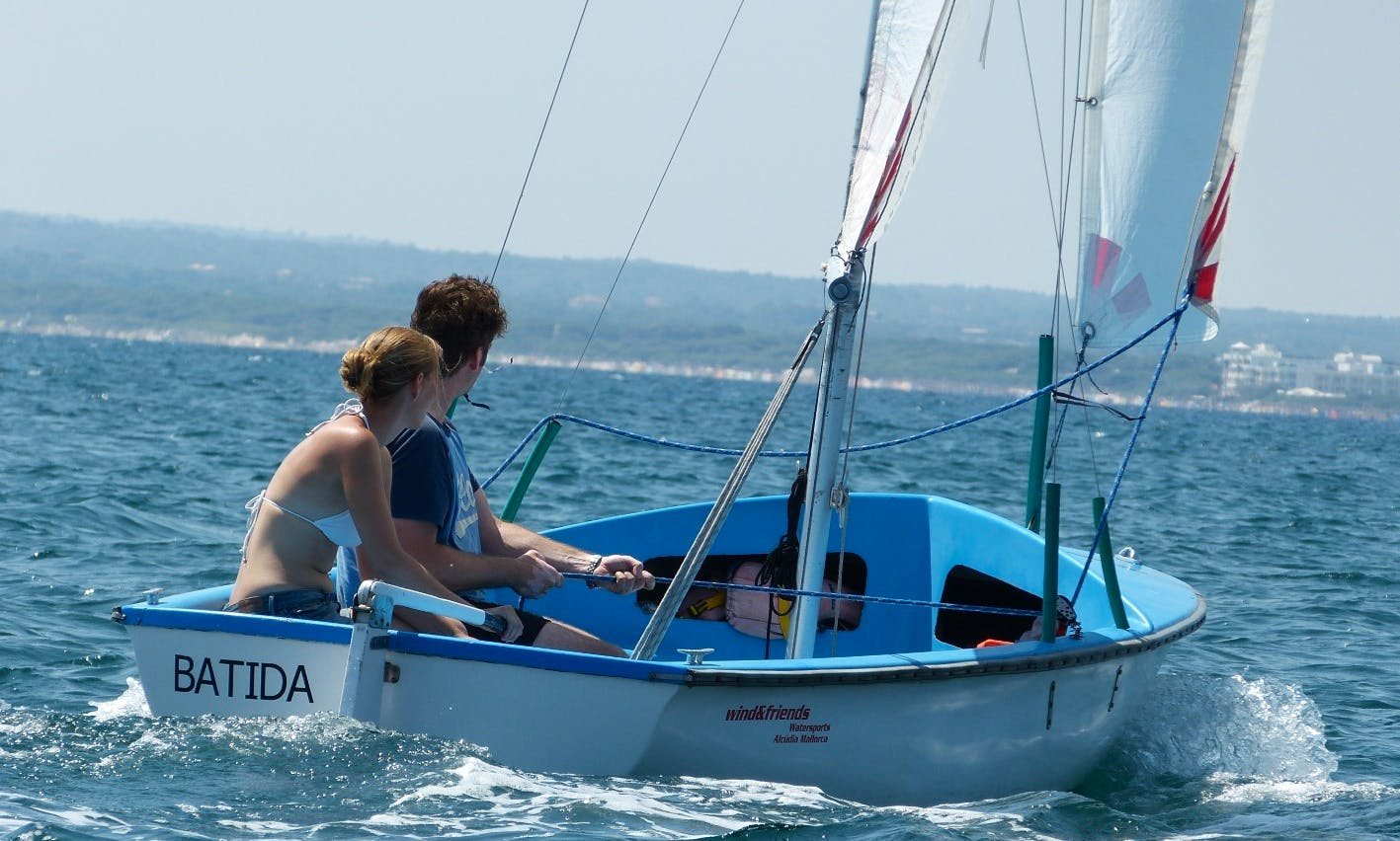 Beach Monohull Rental in Alcúdia