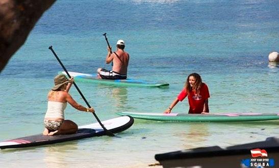 Paddleboard Rental In Tortola