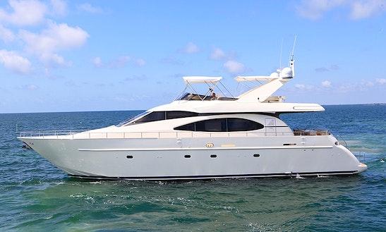 Azimut 70 Yacht Charter In Miami