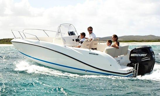 21' Deck Boat Rental In Trogir, Croatia
