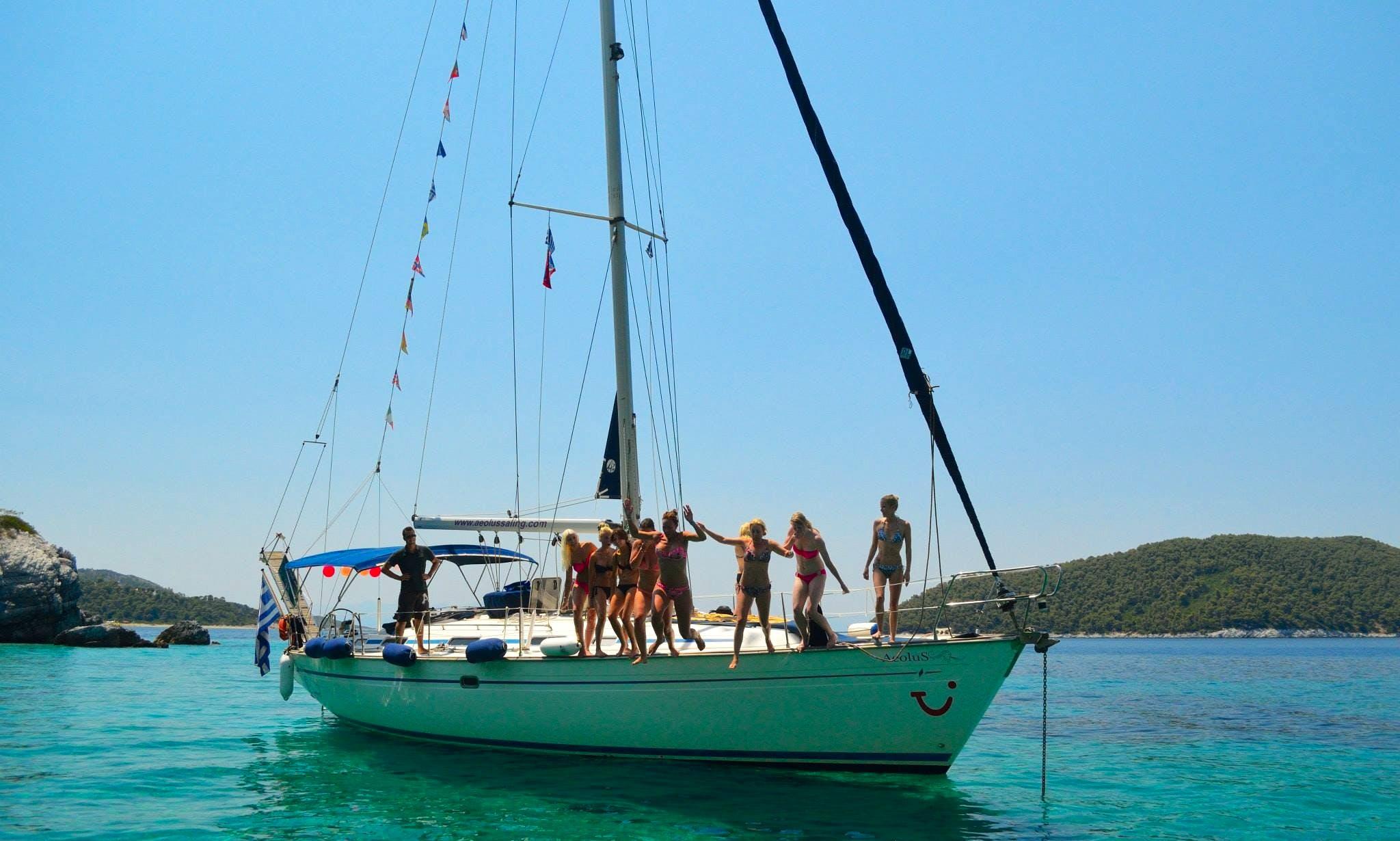 Cruising Monohull Rental in Σκιάθος