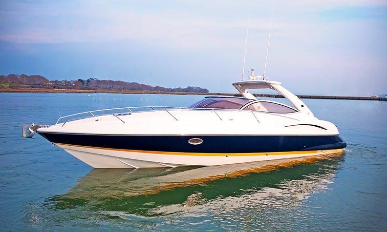 Charter 36' Sunseeker Superhawk Motor Yacht In London, England
