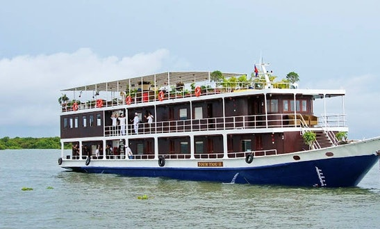 Toumtiou Boat Ii : Siem Reap – Saigon 8 Days / 7 Nights