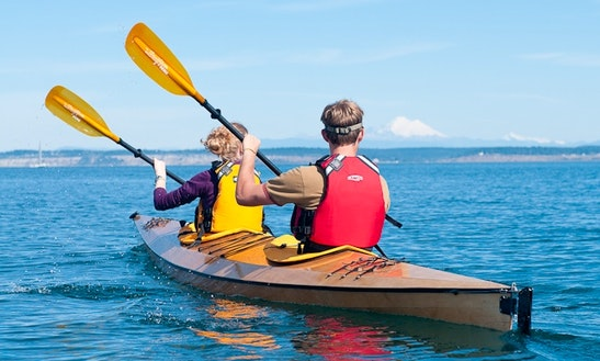 Double Kayak Rental In Hiawassee