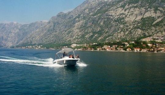 Speed Boat Cruiser Charter In Kotor