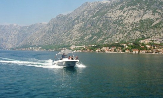 Speed Boat Cruiser Charter In Kotor
