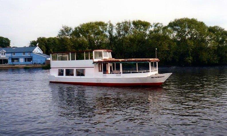 "Hire ""Walton Monarch"" Passenger Boat In Walton-on-Thames, United Kingdom"