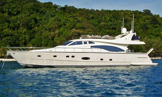 Ferretti 680 Luxury Yacht Charter In Phuket