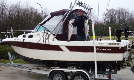 Fishing Charter In Owen Sound, Ontario, Canadaa
