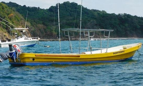 Fishing Charter On 26' Panga In Garza, Costa Rica