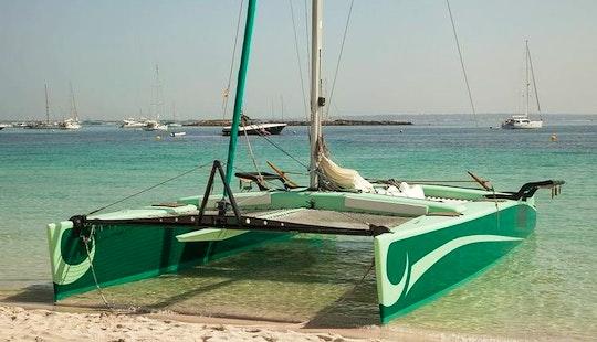 Charter La Bella Verde Catamaran In Ibiza