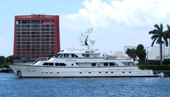 Charter A 138' Luxurious Motor Yacht In Phuket