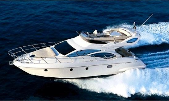 Luxury Motor Yacht Charter With Skipper In Estonia