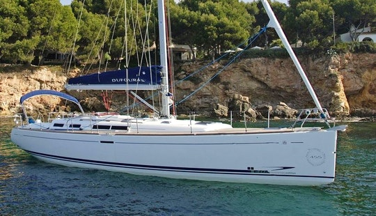 Rogoznica Based Dufour 455 Sailboat Charter