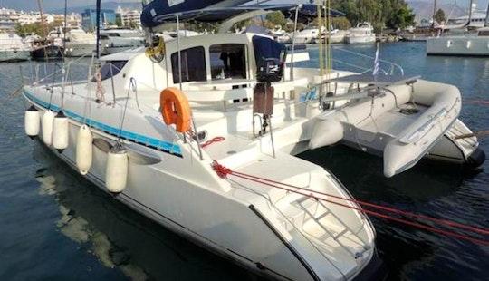 Catamaran Sailing Charter Lavezzi 40 In Barcelona
