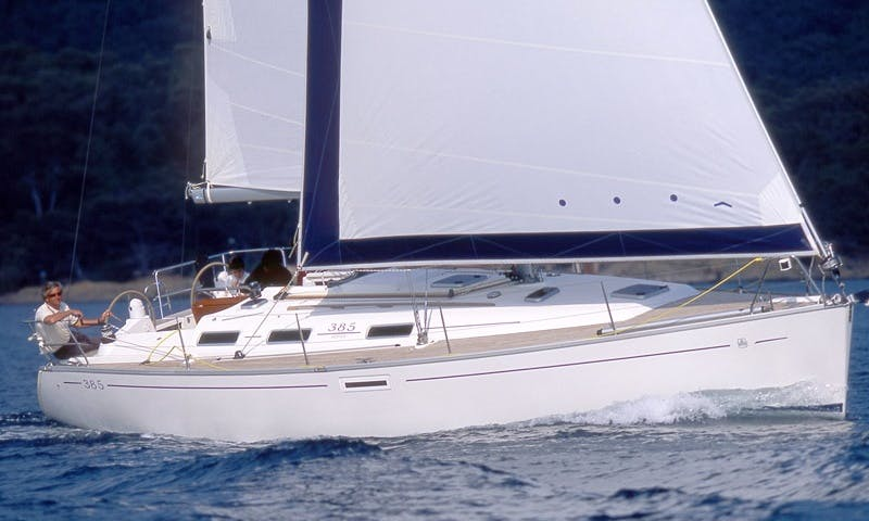 Dufour 385 GL Sailing Yacht for Hire in Rogoznica