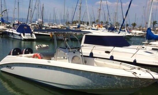 Rent Twin 250 Hp Powered Boston Whaler In Spain