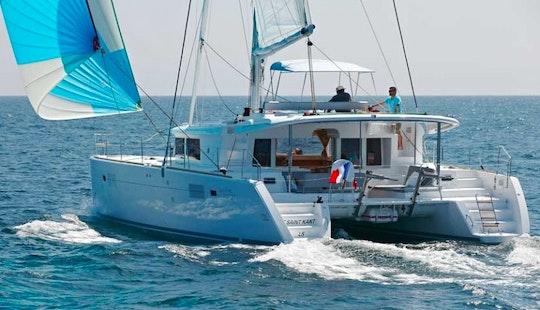 Charter Catamaran Lagoon 450 In Mallorcain S'arenal