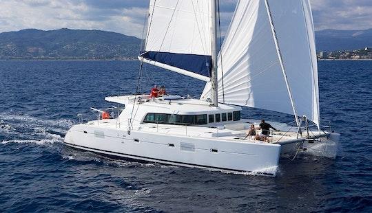 Sail Catamaran Catamaran Lagoon 500 In Mallorcain S'arenal