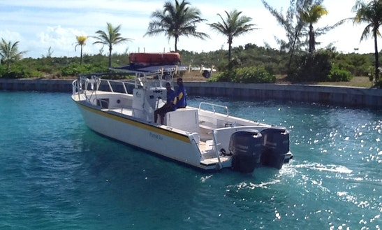 Center Console Charter In Turks And Caicos Islands, Cuba