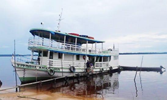 Amazon Tour Passenger Boat Charter In Brazil
