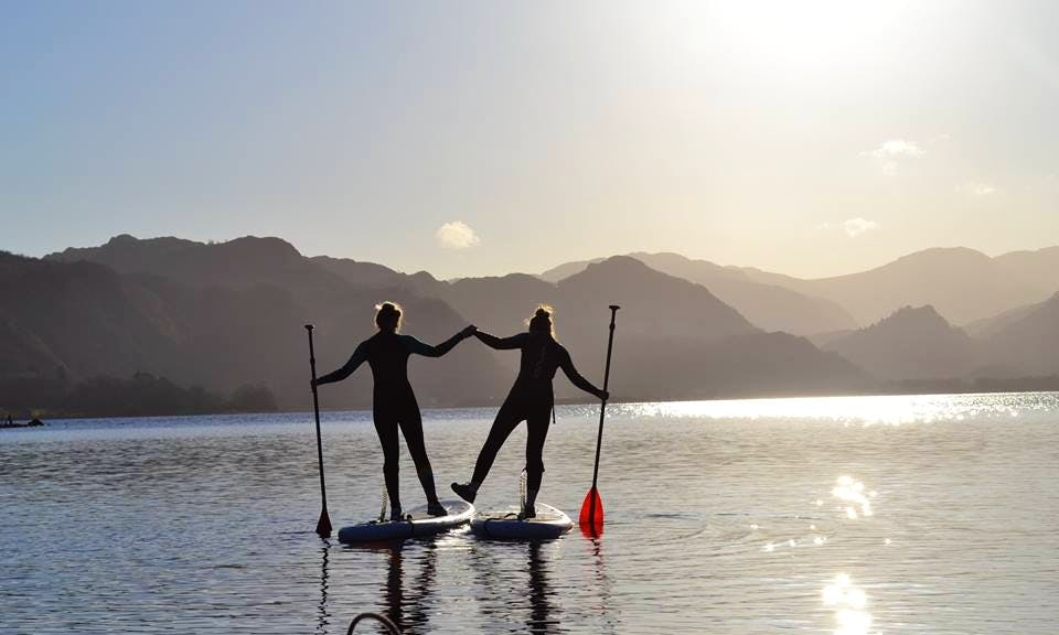 Stand Up Paddle Boarding in Cumbria