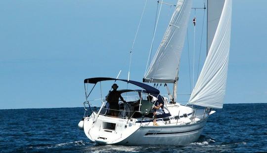 Explore The Sea On Sailing Monohull Athina In Lavrio, Greece