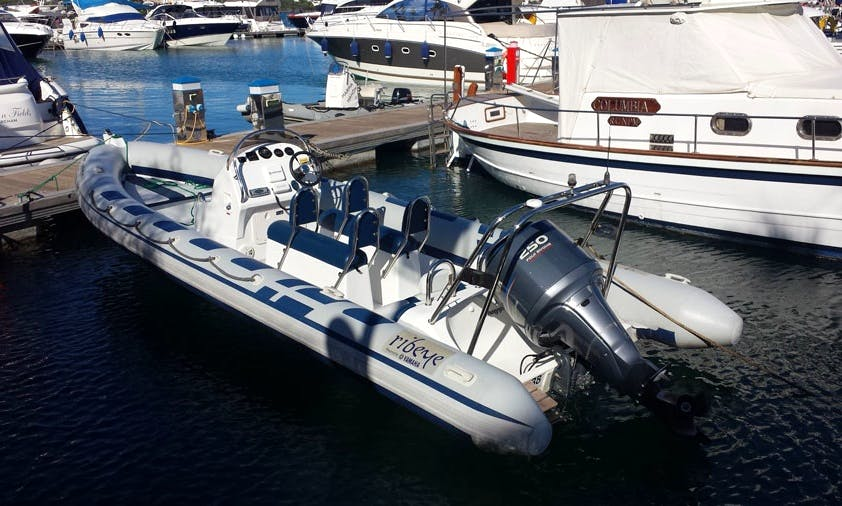 Ribeye S785 Sports RIB Rental in Balearic Islands