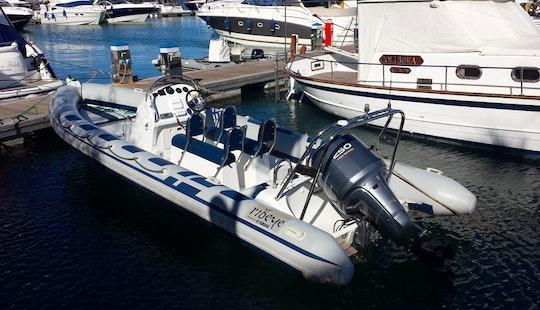Ribeye S785 Sports Rib Rental In Balearic Islands
