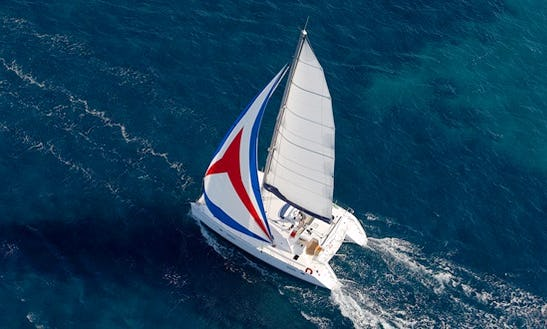 Sail On This Luxury Catamaran Lagoon 440 In Sardinia, Italy
