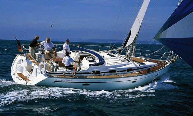 Charter Bavaria 42 Cruiser 'Antares Zadar' in Kaštel Gomilica