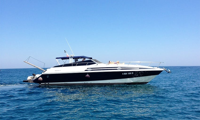 Mochi Craft 47 Open Yacht Charter in Monopoli, Southern Italy