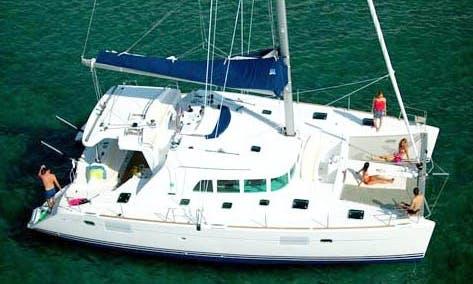 """""""CATAMARAN BALI"""" 4.5 Cruising Catamaran Charter in Palma, Mallorca"""